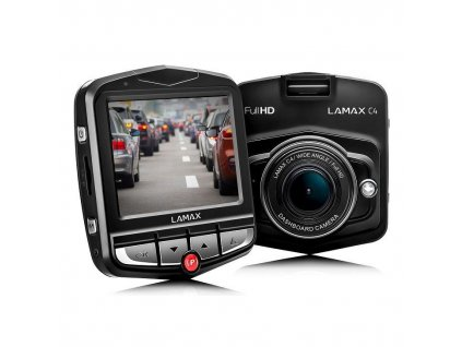 Autokamera LAMAX C4 - černá / ZÁNOVNÍ