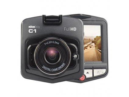 Autokamera Niceboy C1 - černá / ROZBALENO