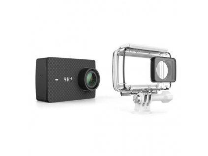 Outdoorová kamera YI Technology YI 4K+ Action + voděodolný kryt - černá / ZÁNOVNÍ