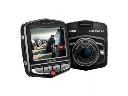 Autokamera LAMAX C3 - černá / ROZBALENO