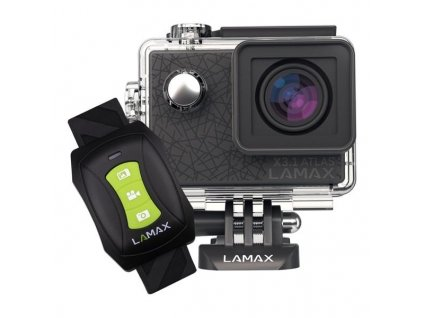 Outdoorová kamera LAMAX X3.1 Atlas - černá / ROZBALENO