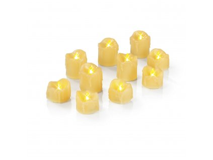 10-ti dílná sada LED svíček EASYmaxx