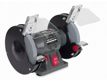 Bruska Powerplus POWE80080 / Dvoukotoučová bruska 150W