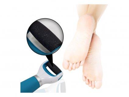 Cenocco CC9020 Elektrická bruska na paty/ Strojek na ztvrdlou kůži/ Elektrický pilník na paty/ Odstraňovač ztvrdlé kůže