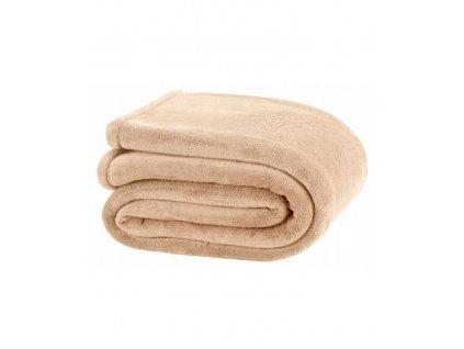 Deka Coral Fleece Blanket béžová - 150x200cm