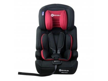 Dětská autosedačka Kinderline Baby Booster CS-702.1 - Červená