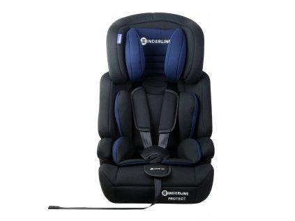 Dětská autosedačka Kinderline Baby Booster CS-702.1 - Modrá