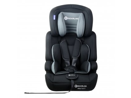 Dětská autosedačka Kinderline Baby Booster CS-702.1 - Šedá
