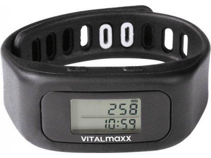 Fitness náramek VITALmaxx / černý