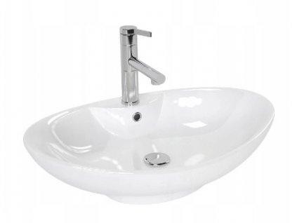 Keramické umyvadlo ROSA 2 - Bílá