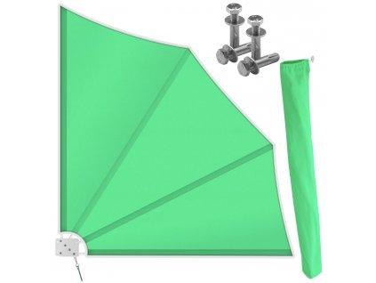 Kesser boční markýza s držákem / 140x140 cm / zelená