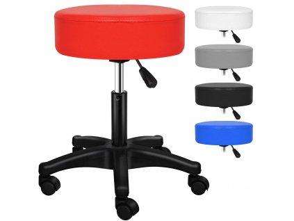 Kesser otočná židle / stolička / pracovní stolička / červená