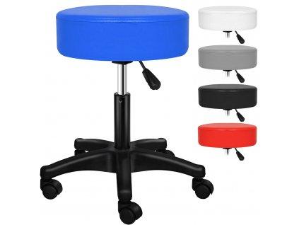 Kesser otočná židle / stolička / pracovní stolička / modrá