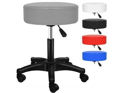 Kesser otočná židle / stolička / pracovní stolička / šedá