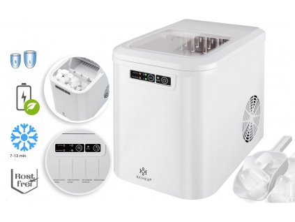 Kesser výrobník ledu / LED displej / 12-15 kg / 24h / 150 W / bílý