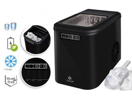 Kesser výrobník ledu / LED displej / 12-15 kg / 24h / 150 W / černý