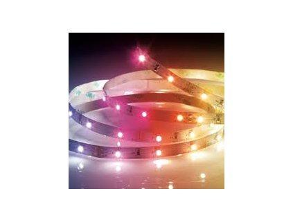 LED pásek multicolor s 2 konektory 1m