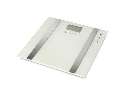 Multifunkční osobní váha Rituals / měření / Tělesná hmotnost / Tělesný tuk / Tělesná voda / Procento svalů / Kostní hmota / Tanita