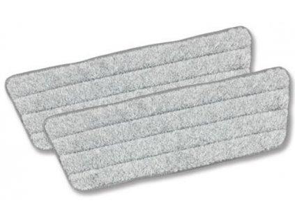 Náhradní utěrky na mop CLEANmaxx - sada 2 ks / šedá