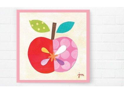 Obraz jablka Happy Spaces 30x30cm