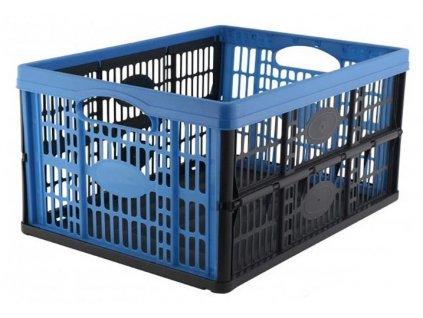 Plastová skládací přepravka / 16kg / 32l / tyrkysová