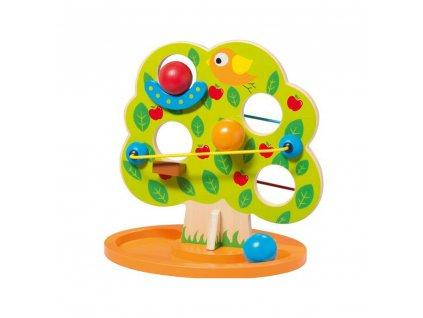 Playtive Junior dřevěná kuličková dráha