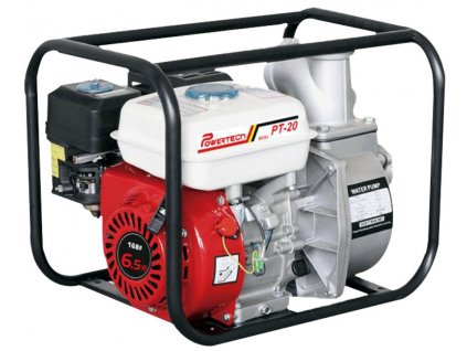 Profesionální vodní pumpa Powertech PT-20 - 6,5 hp, 60 m³/h, 196 cc