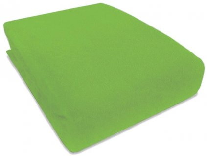 Prostěradlo Piruu Froté 90x200 cm - Zelená