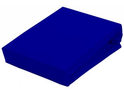 Prostěradlo Piruu Jersey 90x200 cm - Tmavě modrá