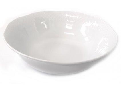 Sada 2 porcelánových misek La Porcellana Bianca Arianna - 18 cm