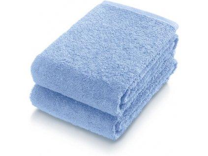 Sada 2 ručníků Frottana 50x100 cm - nebesky modrá