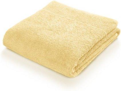 Sada 2 ručníků Frottana 50x100 cm - světle žlutá