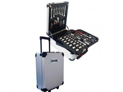 Sada nářadí DMS Germany TWK-729 v hliníkovém kufru - 729 kusů