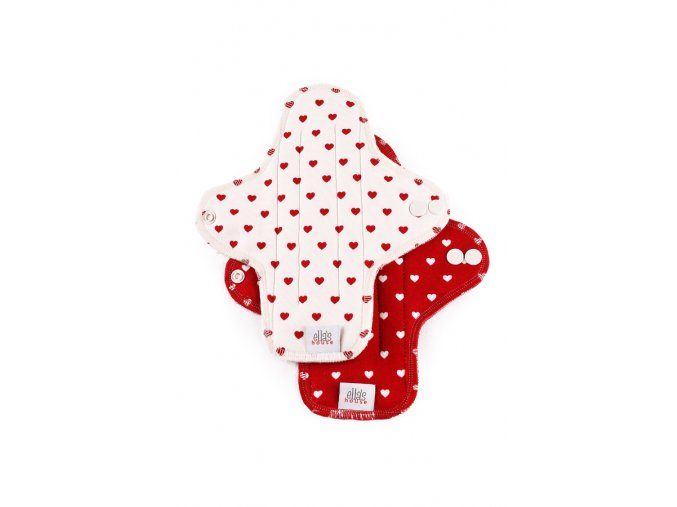 Moon pads midi Hearts 2pcs.