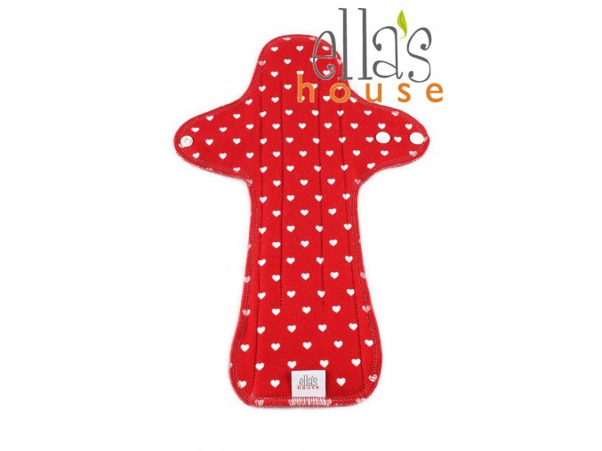 Moon pads maxi Red Hearts 1pc
