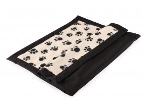 Bum Mat Black Paws - Changing Mat