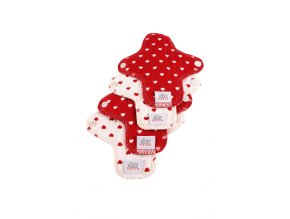 Moon pads mini Hearts 4pcs.