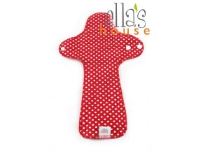 Moon pads maxi Red dots 1pc