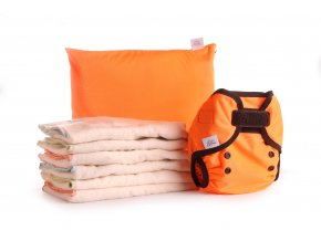 Bum Fold Pack Eco Orange
