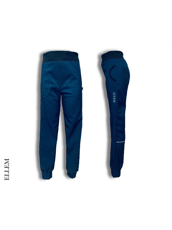 Softshellové kalhoty s nápletem