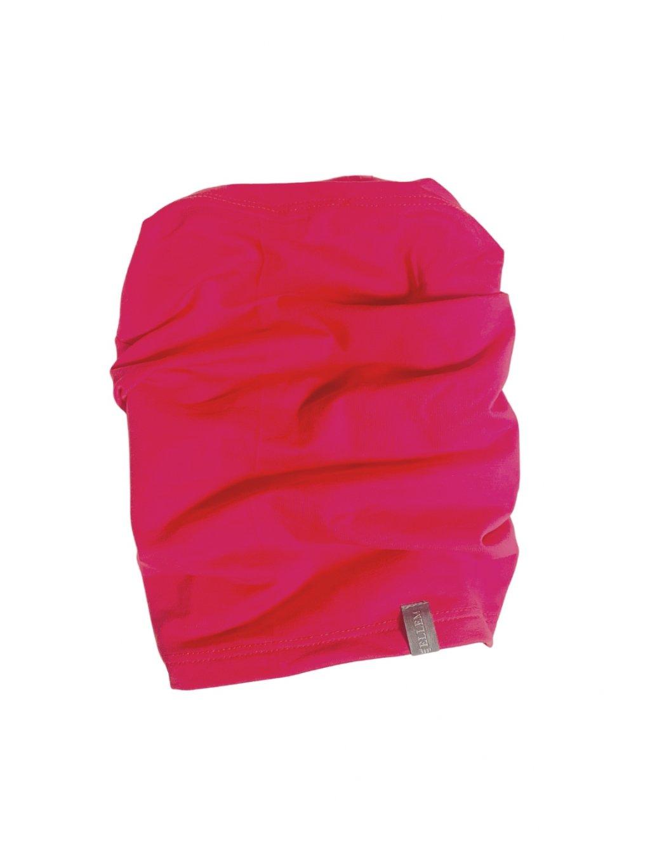 dívčí tmavě růžový podzimní nákrčník