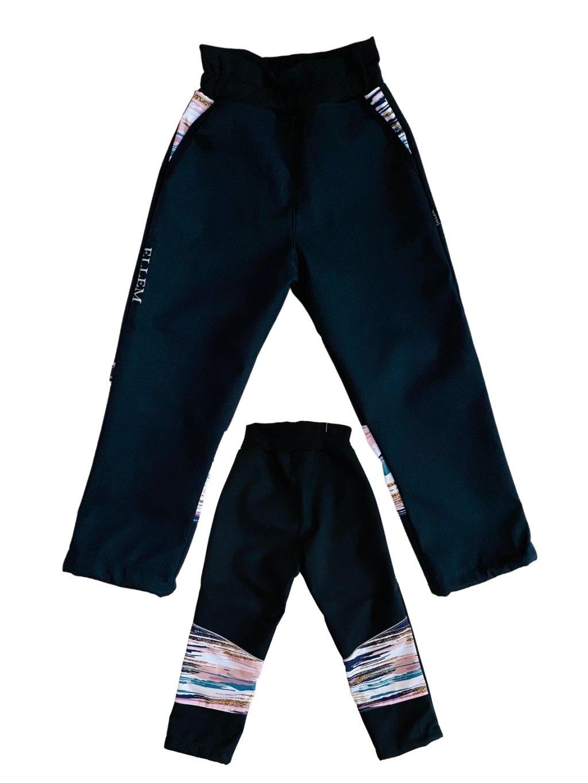 Jarní dívčí softshellové kalhoty 18.000 H20, AGARON - LUXURY