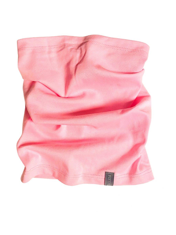 světle růžový dívčí nákrčník