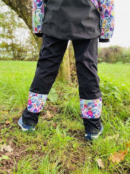 jarní Softshellové kalhoty