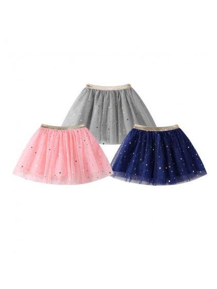 Hvěždičková tutu sukně