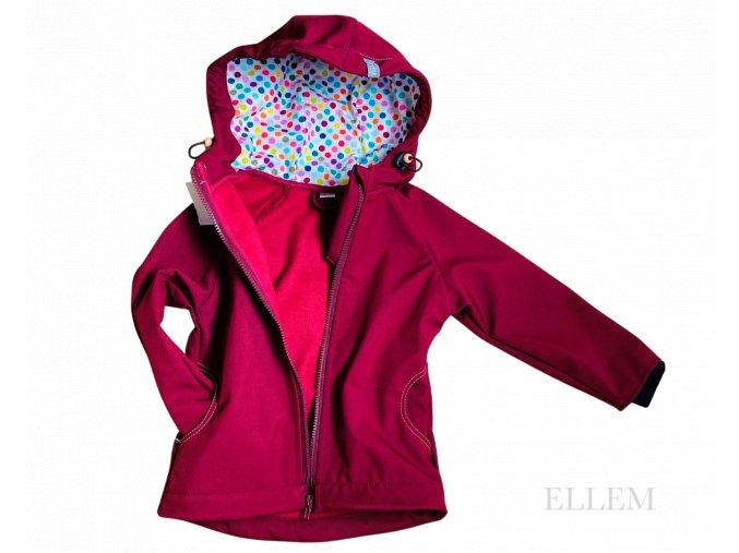 Softshellová bunda PUNTÍK - Meduna II
