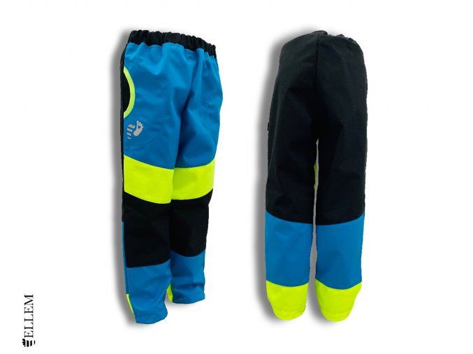 Softshellové kalhoty PRUHOVANÉ - BEZ NÁPLETU (vel. 86 až 128)