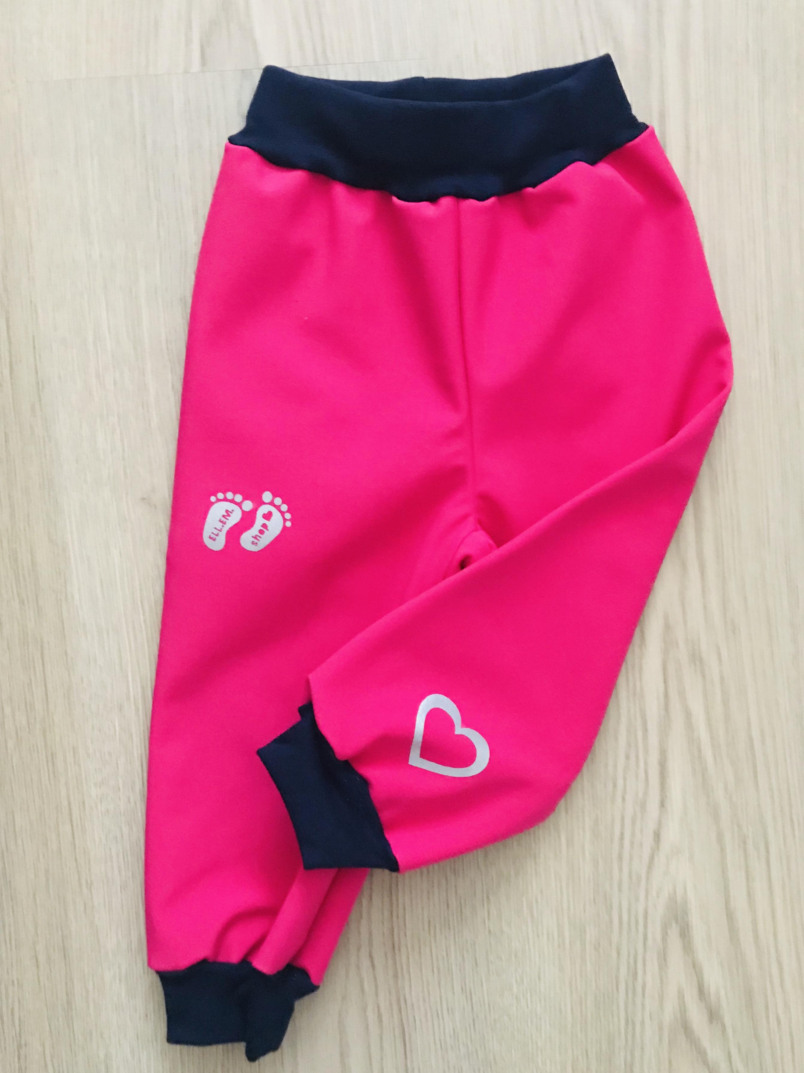 bba8c025343 Softshellové kalhoty pro děti Velikost  80