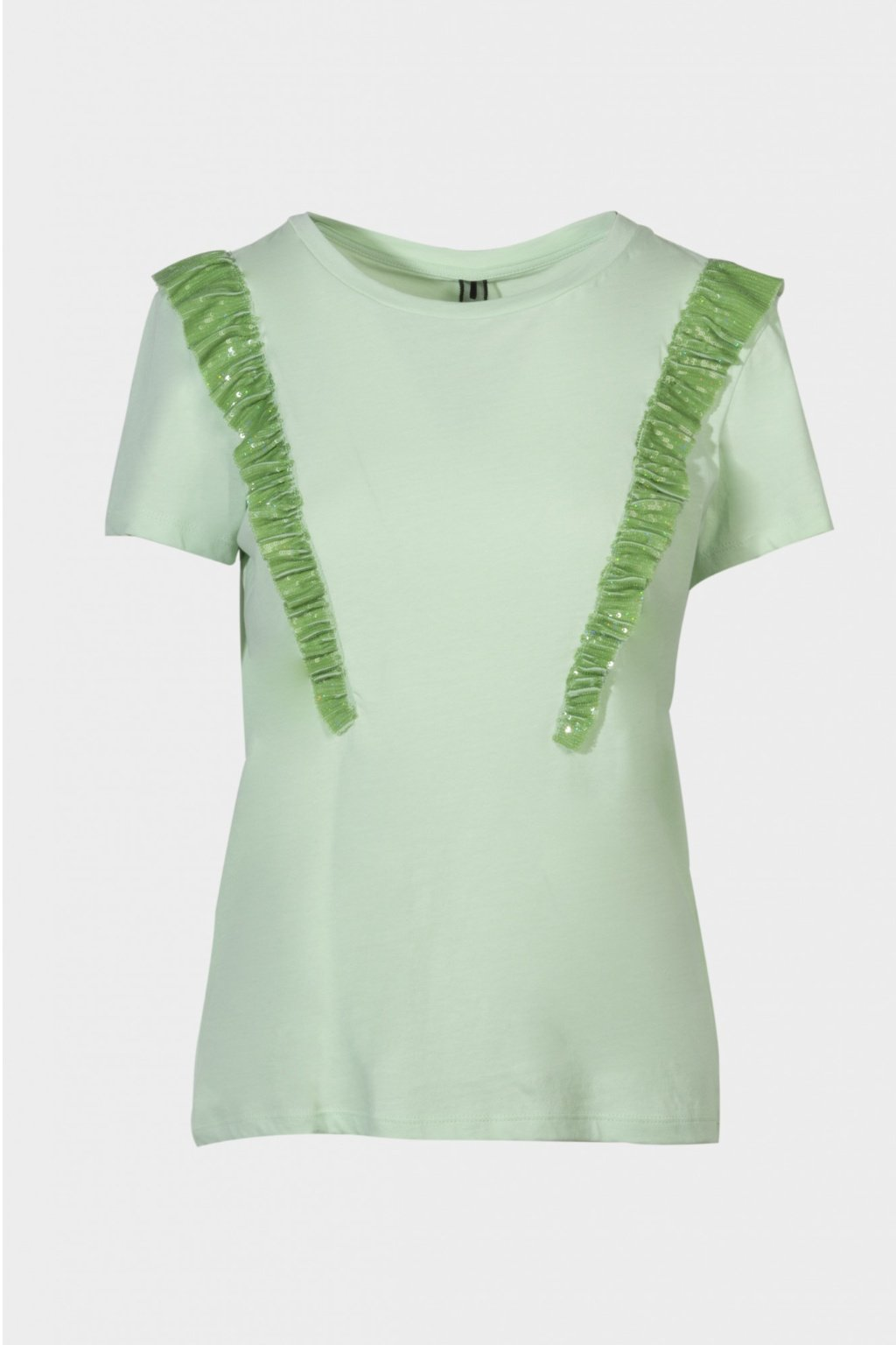 Zelené tričko shine