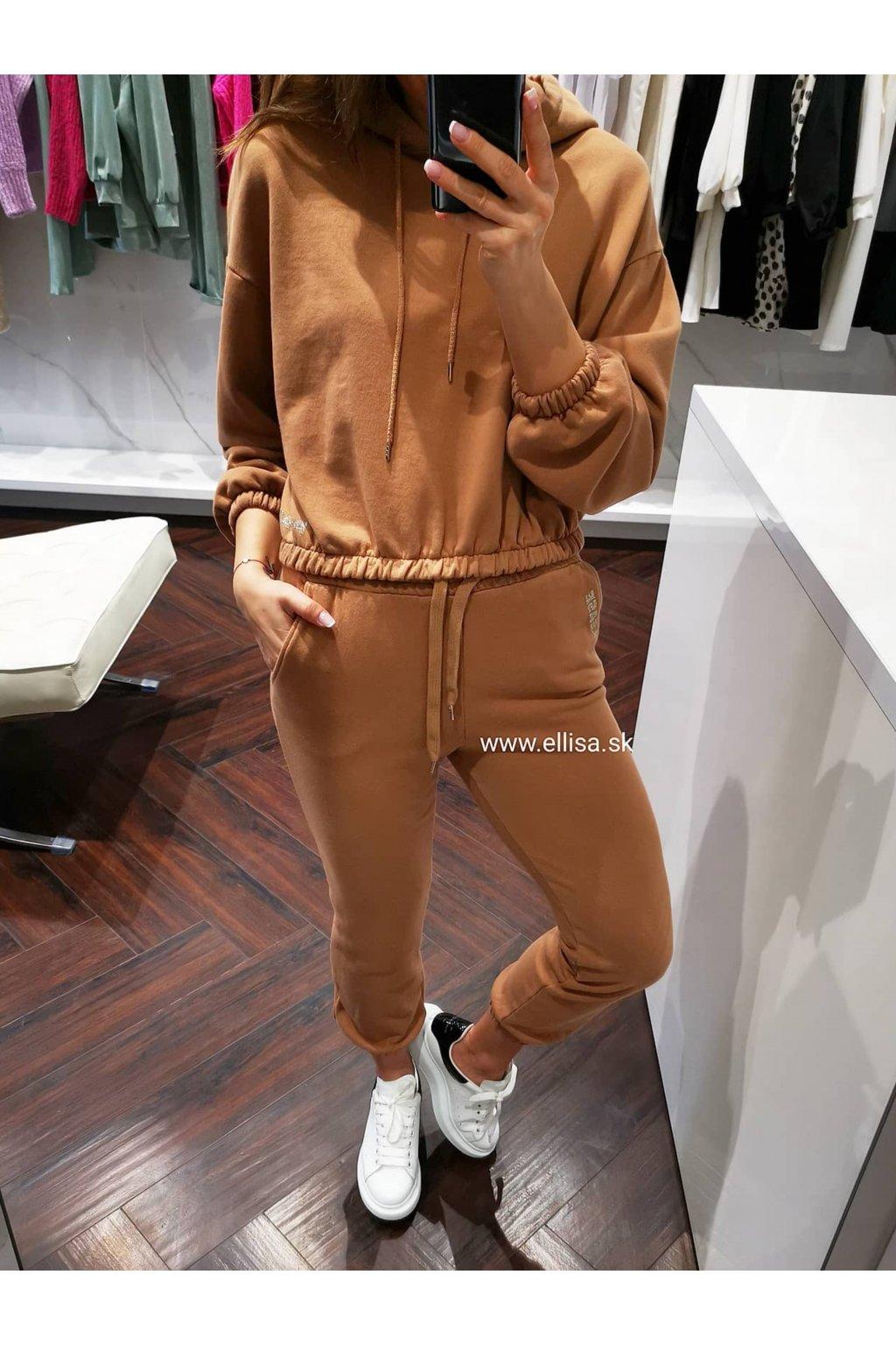 Mikina brown